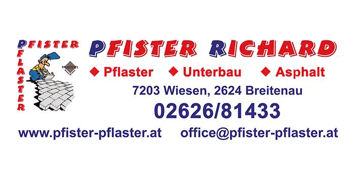 Pflasterungen von Richard Pfister